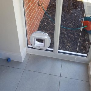 Cost of cat flap fitting in Oxfordshire