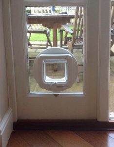 How to install a cat flap Oxfordshire